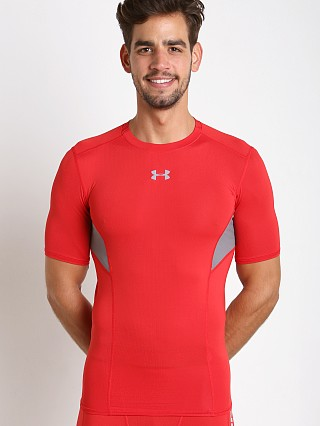 Under Armour Coolswitch Compression Shortsleeve Tee Red