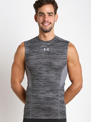Under Armour Coolswitch Compression Muscle Tee Graphite