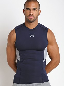Under Armour Coolswitch Compression Muscle Tee Midnight Navy