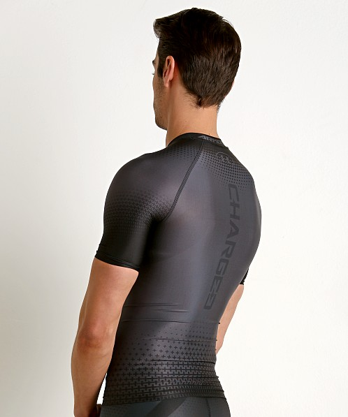 40f1ed335 Under Armour Charged Compression Shortsleeve Shirt Graphite 1270617-040 at  International Jock