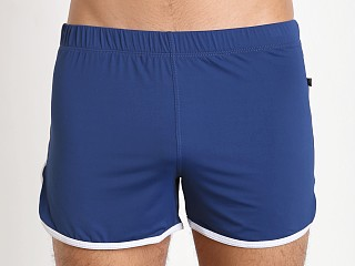 Tulio Slinky Retro Running Shorts Navy