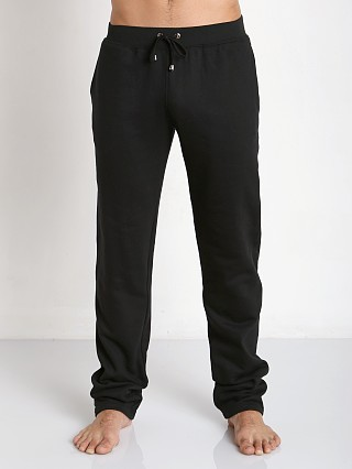 Tulio Pocketed Fleece Workout Pants Black