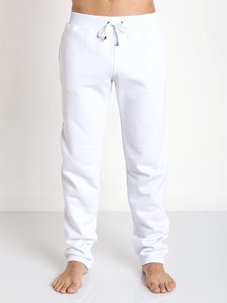 Tulio Pocketed Fleece Workout Pants White