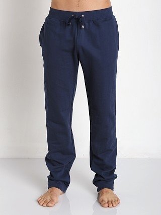 Tulio Pocketed Fleece Workout Pants Navy