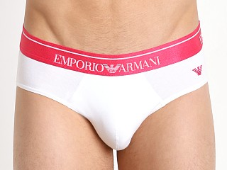 You may also like: Emporio Armani Classic Shiny Logo Brief White