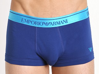 Emporio Armani Classic Shiny Logo Trunk Electric Blue