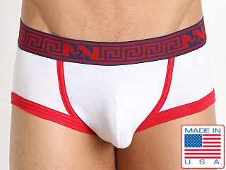N2N Bodywear Spartan Trunk White