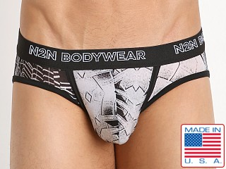 N2N Bodywear Studio Groove Brief Black