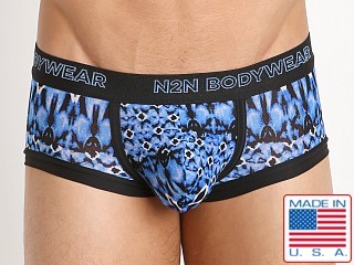 N2N Bodywear Studio Groove Trunk Blue