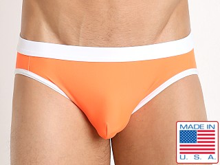 N2N Bodywear Starfire Swim Bikini Neon Orange