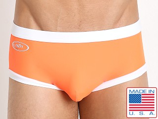 N2N Bodywear Starfire Swim Trunk Neon Orange
