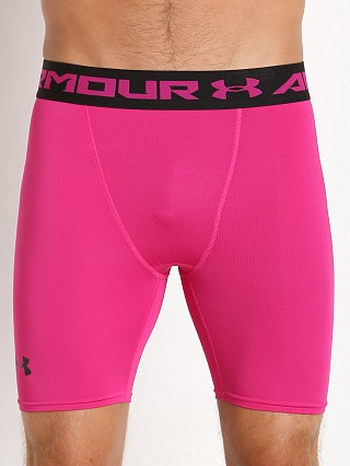 Under Armour Heatgear Armour Compression Short Tropic Pink