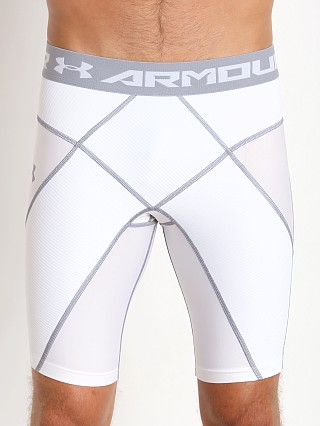 Under Armour Heatgear Compression Core Short White