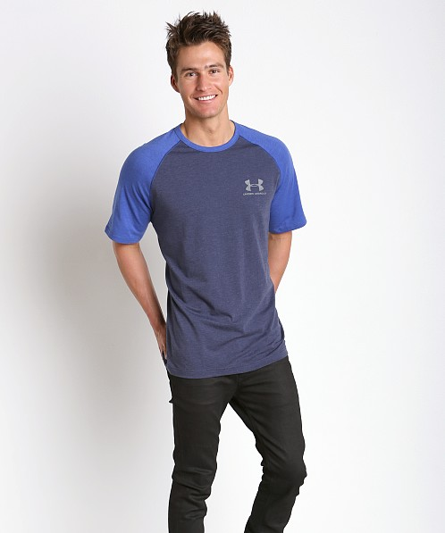 Under Armour Sportstyle Stretch Tee Midnight Navy/Royal