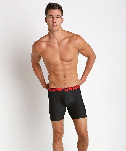 "Under Armour ""O"" Series 6"" Boxerjock Black/Red"