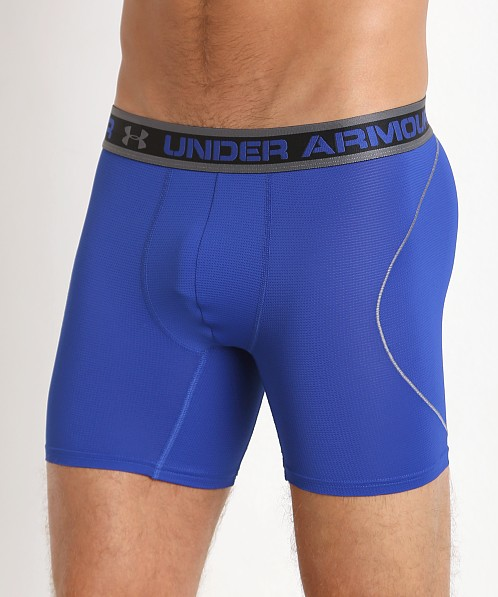 "Under Armour ISO-Chill 6"" Mesh Boxerjock Royal"
