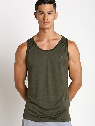 Under Armour Tech Tank Artillery Green/Black