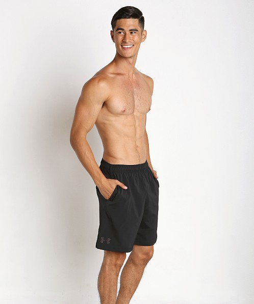 "Under Armour Hiit 10"" Woven Short Black"