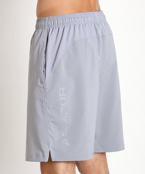 "Under Armour Hiit 10"" Woven Short Steel"