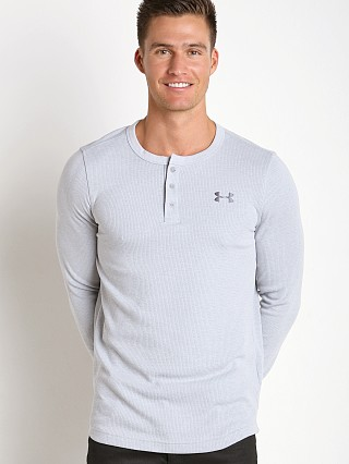 Under Armour Waffle Henley Longsleeve Shirt Air Force Grey