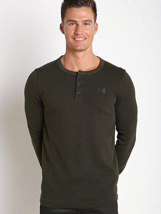 You may also like: Under Armour Waffle Henley Longsleeve Shirt Artillery Green