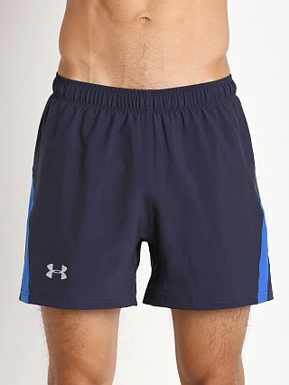 "Under Armour Launch 5"" Woven Short Midnight Navy"