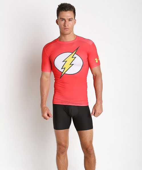Under Armour Flash Compression Shirt Red
