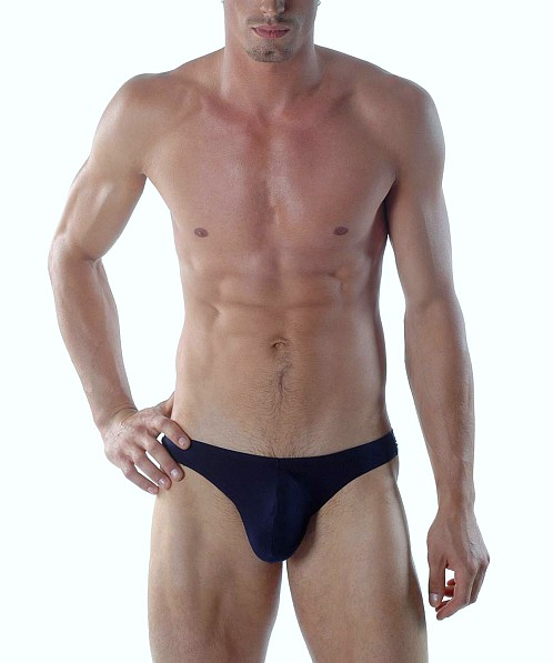 Gregg Homme Microfiber Lifter Thong Navy
