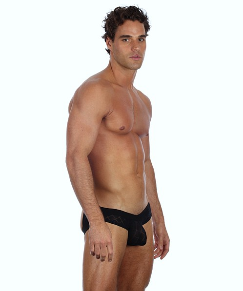 Gregg Homme Active Buttlifter Super Jock Black