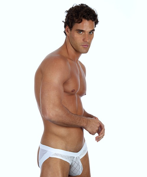 Gregg Homme Active Buttlifter Super Jock White