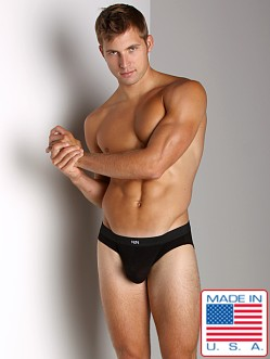 N2N Classic Cotton Pouch Brief Black
