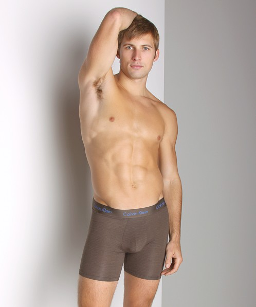 Calvin Klein Micro Modal Boxer Brief French Roast Stripe