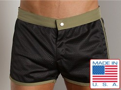 LASC Sixties Mesh Trunk Black