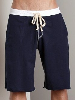LASC Cotton Workout Shorts Navy