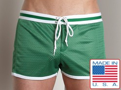 LASC Junior Varsity Mesh Swim Trunks Green