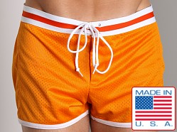 LASC Junior Varsity Mesh Swim Trunks Orange