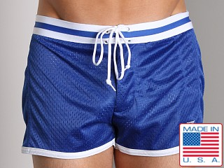 LASC Junior Varsity Mesh Swim Trunks Royal