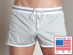 LASC Junior Varsity Mesh Swim Trunks Silver