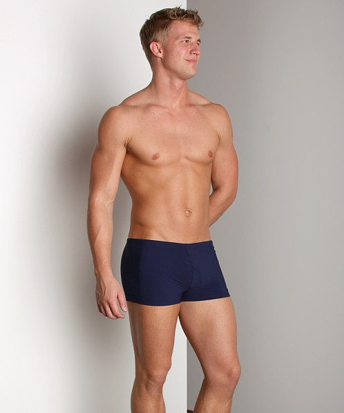 0d417a3d6d541 Hugo Boss Oyster Swim Trunk Navy 50180624-403 at International Jock