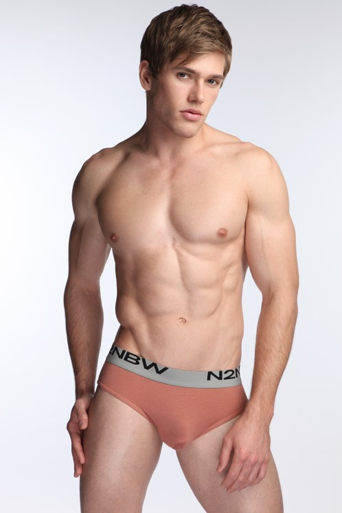 N2N Mojave Hip Brief Rust