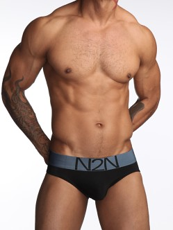 N2N Luxe Brief Black