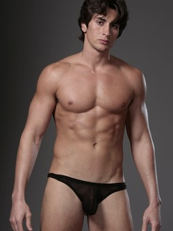 N2N Net Thong Black