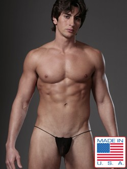 N2N Net G-String Black