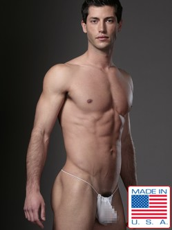 N2N Net G-String White