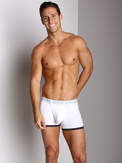 John Sievers Cotton Natural Pouch Boxer Brief White