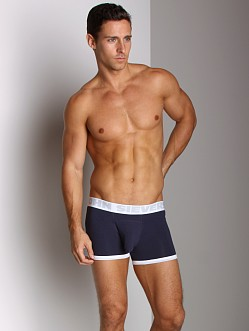 John Sievers Cotton Natural Pouch Boxer Brief Navy
