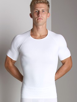 SPANX Zoned Performance Crew Shirt White