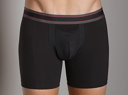 SPANX Cotton Comfort Boxer Brief Black
