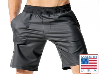 Rufskin Goudron Rubber/Poly Pocket Sport Shorts Black