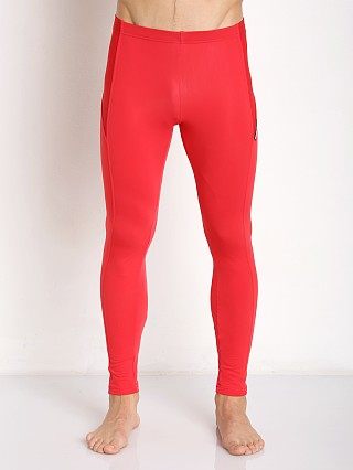 Modus Vivendi Active Mesh Leggings Red
